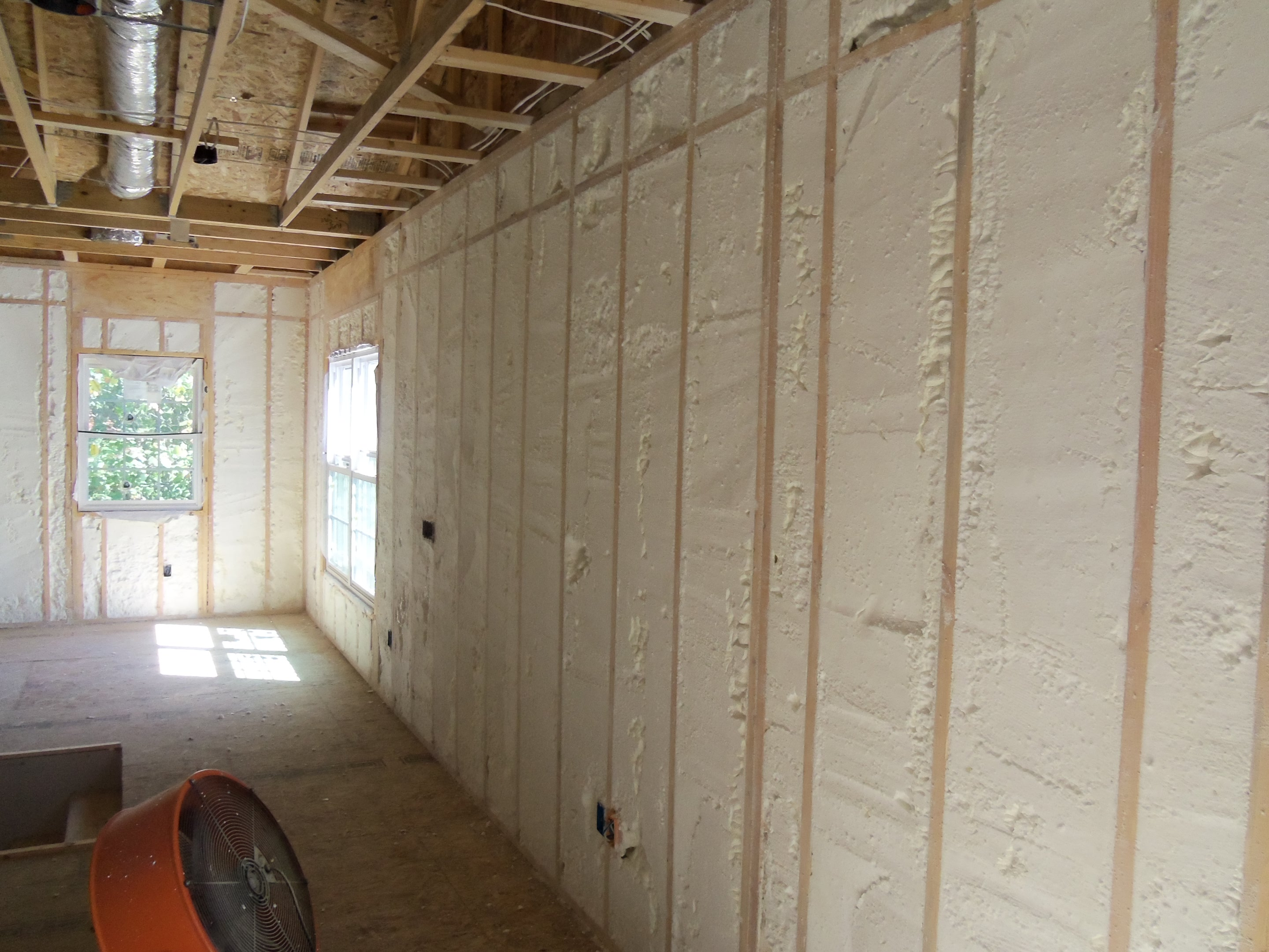 Spray Foam Insulation Air Barrier Insulation Systems