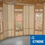 Insulated room by Icynene